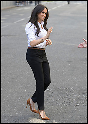 September 12, 2019, London, London, United Kingdom: Image licensed to i-Images Picture Agency. 12/09/2019. London, United Kingdom. Meghan Markle, the The Duchess of Sussex arriving to launch the Smart Works capsule collection in London. (Credit Image: © Stephen Lock/i-Images via ZUMA Press)