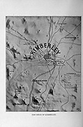The Siege of Kimberley from the book ' Boer and Britisher in South Africa; a history of the Boer-British war and the wars for United South Africa, together with biographies of the great men who made the history of South Africa ' By Neville, John Ormond Published by Thompson & Thomas, Chicago, USA in 1900