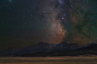 Milky Way over Sawtooth Mountains IOdaho