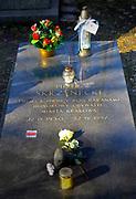 Cmentarz Rakowicki w Krakowie nagrobek Piotra Skrzyneckiego,