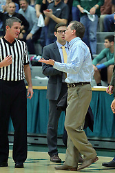 21 February 2017:  Grey Giovanine during an College men's division 3 CCIW basketball game between the Augustana Vikings and the Illinois Wesleyan Titans in Shirk Center, Bloomington IL