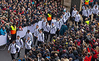 England players arrive at the ground<br /> <br /> Photographer Bob Bradford/CameraSport<br /> <br /> 2018 Quilter Internationals - England v Australia - Saturday 24th November 2018 - Twickenham - London<br /> <br /> World Copyright © 2018 CameraSport. All rights reserved. 43 Linden Ave. Countesthorpe. Leicester. England. LE8 5PG - Tel: +44 (0) 116 277 4147 - admin@camerasport.com - www.camerasport.com