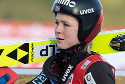 07.02.2020, Energie AG Skisprung Arena, Hinzenbach, AUT, FIS Weltcup Ski Sprung, Damen, im Bild Maren Lundby (NOR) // Maren Lundby (NOR) during the women's Jump of FIS Ski Jumping World Cup at the Energie AG Skisprung Arena in Hinzenbach, Austria on 2020/02/07. EXPA Pictures © 2020, PhotoCredit: EXPA/ Reinhard Eisenbauer
