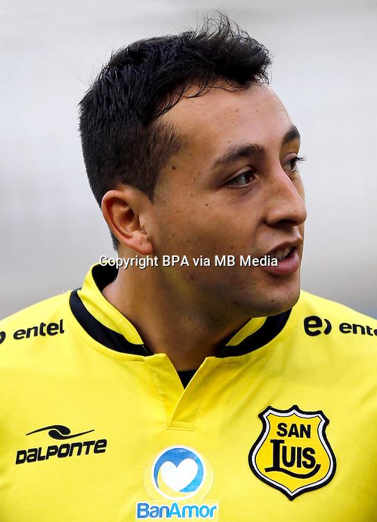 Chile Football League First Division - <br /> Scotiabank Tournament 2016 - <br /> ( San Luis de Quillota ) - <br /> Boris Alexis Sagredo Romero