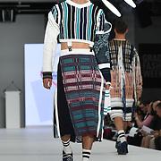 Designer Fraser Miller the Best of Graduate Fashion Week showcases at the Graduate Fashion Week 2018, June 6 2018 at Truman Brewery, London, UK.