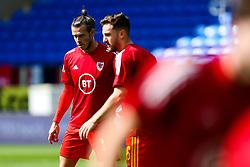 Gareth Bale and Tom Lockyer of Wales - Rogan/JMP - 06/09/2020 - FOOTBALL - Cardiff City Stadium - Cardiff, Wales - Wales v Bulgaria - UEFA Nations League Group B4.