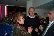 JULIE WALTERS; NIGEL PLANER; HENRY GOODMAN, The Actors Centre's 30th Birthday Party. 1a Tower St, Covent Garden. London. 2nd November<br /> *** Local Caption *** -DO NOT ARCHIVE -Copyright Photograph by Dafydd Jones. 248 Clapham Rd. London SW9 0PZ. Tel 0207 820 0771. www.dafjones.com