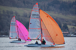 The annual RYA Youth National Championships is the UK's premier youth racing event. This year's regatta is taking place in Largs, Scotland, and will feature around 200 young sailors aged between 14 and 21. <br /> <br /> <br /> 1972 Delphine Ala, Maddy Kirk, Mengeham Rythe Sailing Club / HISC/ Rutland SC sailing the 29er <br /> <br /> <br /> Images: Marc Turner / RYA<br /> <br /> For further information contact:<br /> <br /> Richard Aspland, <br /> RYA Racing Communications Officer (on site)<br /> E: richard.aspland@rya.org.uk<br /> m: 07469 854599