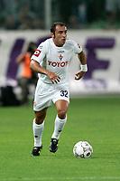 """Firenze 07/08/2005 - Stadio Comunale """" A. Franchi """" - TIM CUP 2005/2006 - Fiorentina Vs Cisco Lodigiani 4-0 - nella foto: Il giocatore della Fiorentina Cristian BROCCHI"""