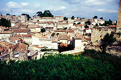 France: Bordeaux. Wine Country..Village of St. Emilion..Photo: frbord101..Photo Copyright Lee Foster, 510/549-2202, lee@fostertravel.com, www.fostertravel.com...Photo #: frbord101