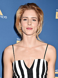 HOLLYWOOD, CA - FEBRUARY 02: Sarah Paulson attends the 71st Annual Directors Guild Of America Awards at The Ray Dolby Ballroom at Hollywood. 02 Feb 2019 Pictured: Emily Bett Rickards. Photo credit: Jeffrey Mayer/JTMPhotos, Int'l. / MEGA TheMegaAgency.com +1 888 505 6342