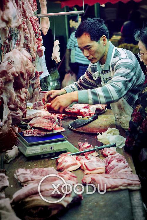 Butcher, Hong Kong, China (January 2006)