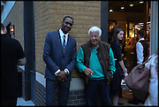 JEFFREY MACLEAN; ANTONIO CARLUCCIO; , Dinosaur Designs launch of their first European store in London. 35 Gt. Windmill St. 18 September 2014