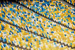 May 25, 2018 - Kyiv, UKRAINE - 180525 General interior view of the NSC Olimpiyskiy stadium ahead of the UEFA Champions League final between Real Madrid and Liverpool on May 25, 2018 in Kyiv..Photo: Vegard Wivestad GrÂ¿tt / BILDBYRN / kod VG / 170175 (Credit Image: © Vegard Wivestad Gr¯Tt/Bildbyran via ZUMA Press)