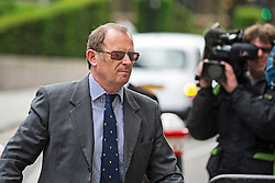 © London News Pictures. 09/06/2015. London, UK. Former specialist firearms officer with the Metropolitan Police ANTHONY LONG arriving at court in London on June 9, 2915, where is accused of murdering Azelle Rodney in April 2005. Rodney died after officers stopped the car he was travelling in with two other men in Edgware, north London . Photo credit: Ben Cawthra/LNP