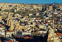 Turquie. Anatolie Centrale. Cappadoce. Vallée de Goreme. // Turkey. Central Anatolia. Cappadocia. Goreme valley.
