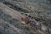 Ladies lead bunch during stage 1 of the 2019 Absa Cape Epic Mountain Bike stage race held from Hermanus High School in Hermanus, South Africa on the 18th March 2019.<br /> <br /> Photo by Greg Beadle/Cape Epic<br /> <br /> PLEASE ENSURE THE APPROPRIATE CREDIT IS GIVEN TO THE PHOTOGRAPHER AND ABSA CAPE EPIC