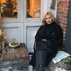"Veronica Ferres releases a photo on Instagram with the following caption: ""An #NewYork mag ich ja nicht nur die gro\u00dfen, belebten Boulevards, sondern vor allem die kleinen, gem\u00fctlichen Ecken wie hier in #SoHo gerne! \ud83d\ude4c \nWer war schon mal hier? \ud83d\ude0d\n.\n.\n#ny #nyc #manhattan #bigapple #nytrip #nycity #ig_newyork #autumn #autumninnewyork #usa #usatrip #happy #pots #wednesday"". Photo Credit: Instagram *** No USA Distribution *** For Editorial Use Only *** Not to be Published in Books or Photo Books ***  Please note: Fees charged by the agency are for the agency's services only, and do not, nor are they intended to, convey to the user any ownership of Copyright or License in the material. The agency does not claim any ownership including but not limited to Copyright or License in the attached material. By publishing this material you expressly agree to indemnify and to hold the agency and its directors, shareholders and employees harmless from any loss, claims, damages, demands, expenses (including legal fees), or any causes of action or allegation against the agency arising out of or connected in any way with publication of the material."
