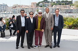 Pedro Almodovar, Park Chan-Wook, Paolo Sorrentino, Gabriel Yared and Will Smith attending the Jury photocall as part of the 70th Cannes Film Festival in Cannes, France on May 17, 2017. Photo by Nicolas Genin/ABACAPRESS.COM