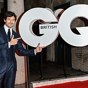 Andres Velencoso Arrivers at GQ 30th Anniversary celebration at Sushisamba, The Market, Convent Garden on 29 October 2018.