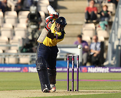 Hampshire's Michael Carberry bats - Photo mandatory by-line: Robbie Stephenson/JMP - Mobile: 07966 386802 - 04/06/2015 - SPORT - Cricket - Southampton - The Ageas Bowl - Hampshire v Middlesex - Natwest T20 Blast