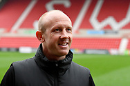 Yeovil Town manager Darren Way before the EFL Sky Bet League 2 match between Swindon Town and Yeovil Town at the County Ground, Swindon, England on 10 April 2018. Picture by Graham Hunt.