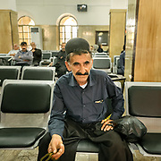 The train station in Andimeshk city, Khuzestan province. <br /> <br /> Travelling over 4000km by train across Iran. An opportunity to enjoy Persian hospitality, discover Iran's ancient cities and its varied landscapes, from deserts to mountains.