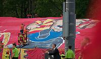 06.05.2012 Bialystok Mecz ostatniej kolejki sezonu 2011/2012 T-Mobile Ekstraklasy Jagiellonia - LKS Lodz zakonczony wynikiem 2:1 N/z kibice Jagiellonii fot Michal Kosc / AGENCJA WSCHOD