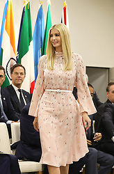 """Ivanka Trump (Advisor to the President of the United States) - Side event organized by the Japanese Prime Minister, on the theme """"Promoting the place of women at work"""" at the Intex Osaka congress center at the G20 summit in Osaka, Japan, on June 29, 2019. Photo by Dominque Jacovides/Pool/ABACAPRESS.COM"""
