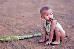 Boy In Khao I Dang Refugee Camp