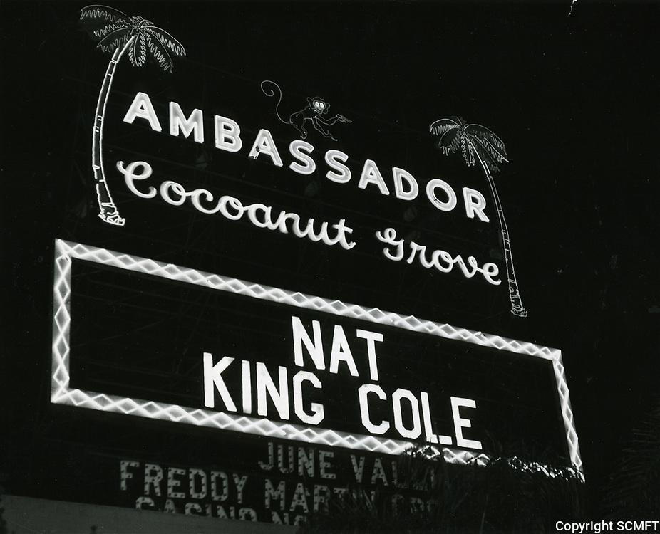 1948 Cocoanut Grove Marquee
