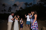 Nancy & Michael renewed their vows in front of their kids and grandkids at Kapalua Bay, Maui