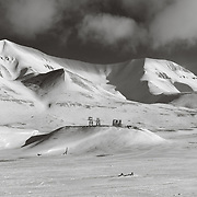 Hiorthamn, across Adventfjorden from Longyearbyen
