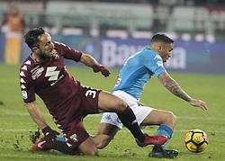 December 16, 2017 - Turin, Italy - Allan during Serie A match between Torino v Napoli, in Turin, on December 16, 2017  (Credit Image: © Loris Roselli/NurPhoto via ZUMA Press)