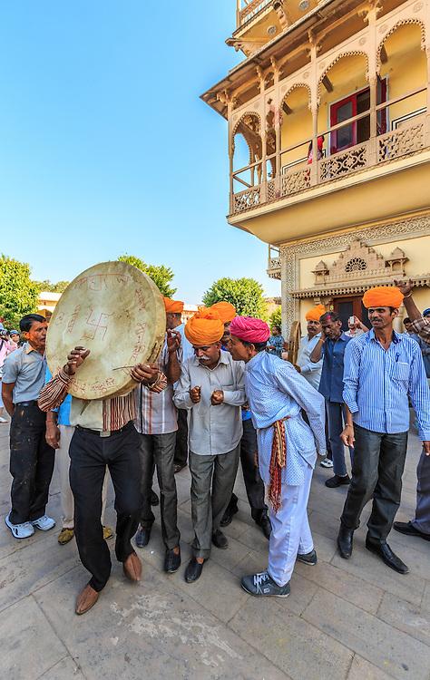 Musicians in Jaipur, India.