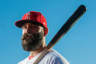 Mater Dei alum and new second baseman Danny Espinosa poses during the Angels' Photo Day at Spring Training in Tempe, AZ on Tuesday, February 21, 2017. (Photo by Kevin Sullivan, Orange County Register/SCNG)