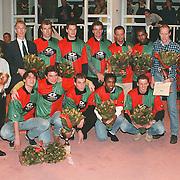 Nieuwjaarsreceptie gemeente Huizen 1999, Huizer Sportprijzen 1998