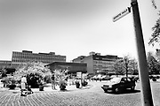 Nederland, Nijmegen, 4-6-1987De toegang tot de eerste hulp van het Radboudumc, umc, radboud, academisch, ziekenhuis. FOTO: FLIP FRANSSEN