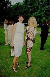 7 July 1999 - Ghislain Maxwell and Avery Agnelli at The Serpentine Gallery annual Summer party, London.<br /> <br /> Photo by Dominic O'Neill/Desmond O'Neill Features Ltd.  +44(0)1306 731608  www.donfeatures.com