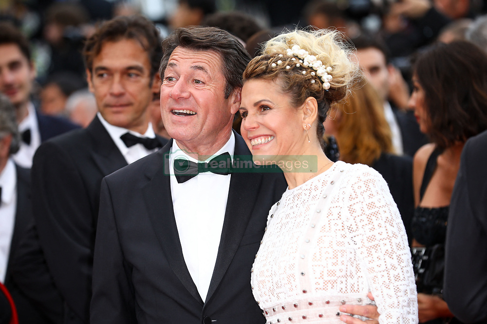 Christian Estrosi and Laura Tanoudji Estrosi attend the screening of A Hidden Life (Une Vie Cachee) during the 72nd annual Cannes Film Festival on May 19, 2019 in Cannes, France. Photo by Shootpix/ABACAPRESS.COM