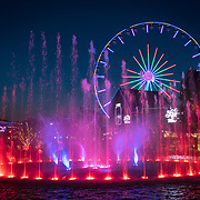 The fountain and Ferris wheel at the Island at Pigeon Forge in Pigeon Forge, Tennessee. Nathan Lambrecht/Journal Communications