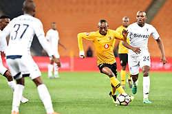 Gauteng, Johannesburg - Kaizer Chiefs player Khama Billat and Bidvest Wits player Gift Motupa battle for the ball during the ABSA premiership game FNB Stadium.<br />Picture: Itumeleng English/African News Agency (ANA)