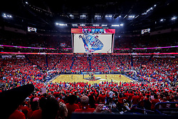 May 6, 2018 - New Orleans, LA, U.S. - NEW ORLEANS, LA - MAY 06:   General View of the arena  during game 4 of the NBA Western Conference Semifinals between the New Orleans Pelicans and the Golden State Warriors at Smoothie King Center in New Orleans, LA on May 06, 2018.  (Photo by Stephen Lew/Icon Sportswire) (Credit Image: © Stephen Lew/Icon SMI via ZUMA Press)