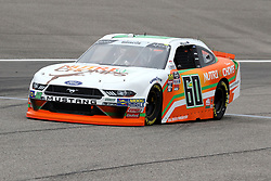 November 16, 2018 - Homestead, FL, U.S. - HOMESTEAD, FL - NOVEMBER 16: Chase Briscoe, driver of the #60 Nutri Chomps Ford, during practice for the NASCAR Xfinity Series playoff race, the Ford EcoBoost 300 on November 16, 2018, at Homestead-Miami Speedway in Homestead, FL. (Photo by Malcolm Hope/Icon Sportswire) (Credit Image: © Malcolm Hope/Icon SMI via ZUMA Press)