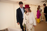 MARK CECIL; TINA CUTLER, Cartier International Polo Day at the Guards Polo Club. Windsor. July 26  2009