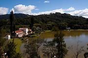 Sao Lourenco_MG, Brasil...Vista panoramica do Parque das Aguas em Sao Lourenco...The panoramic view of the Water Park in Sao Lourenco...Foto: MARCUS DESIMONI / NITRO