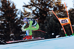 29.12.2017, Stelvio, Bormio, ITA, FIS Weltcup, Ski Alpin, alpine Kombination, Abfahrt, Herren, im Bild Klemen Kosi (SLO) // Klemen Kosi of Slovenia in action during the downhill competition for the men's Alpine combination of FIS Ski Alpine World Cup at the Stelvio course, Bormio, Italy on 2017/12/29. EXPA Pictures © 2017, PhotoCredit: EXPA/ Johann Groder