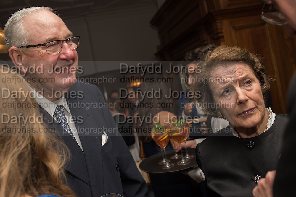 HENRY KESWICK; TESSA KESWICK;  The Brown's Hotel Summer Party hosted by Sir Rocco Forte and Olga Polizzi, Brown's Hotel. Albermarle St. London. 14 May 2015