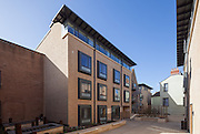The Wagstaff Building, Pembroke College, New Build on completion March 2013. Oxford, UK