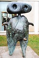 Spain, Barcelona. The Fundació Joan Miró on Montjuïc.